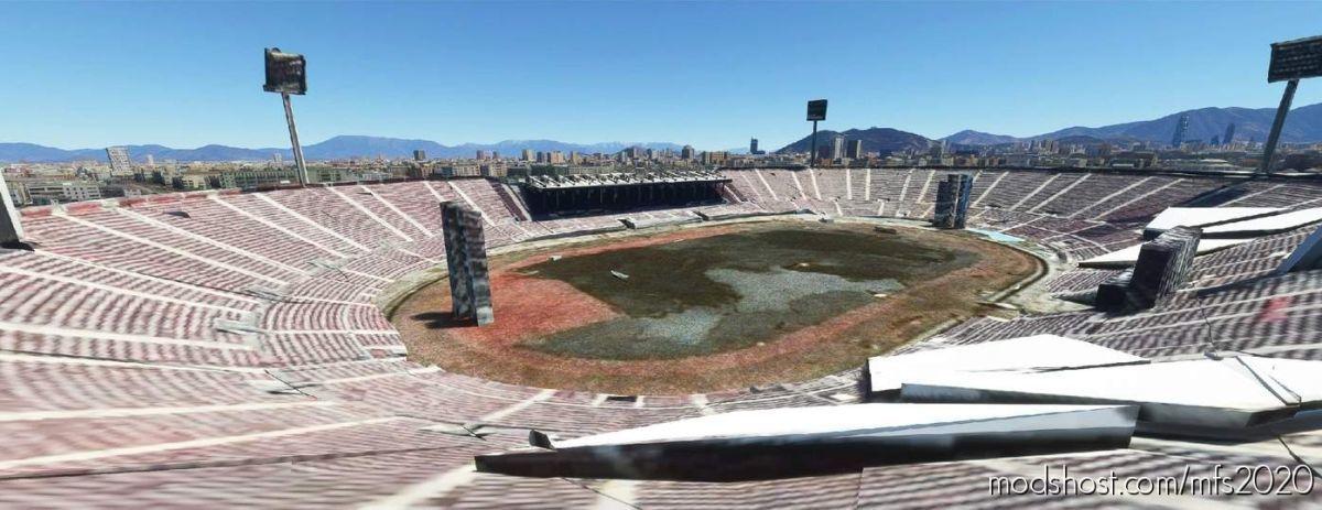 National Stadium of Chile for Microsoft Flight Simulator 2020