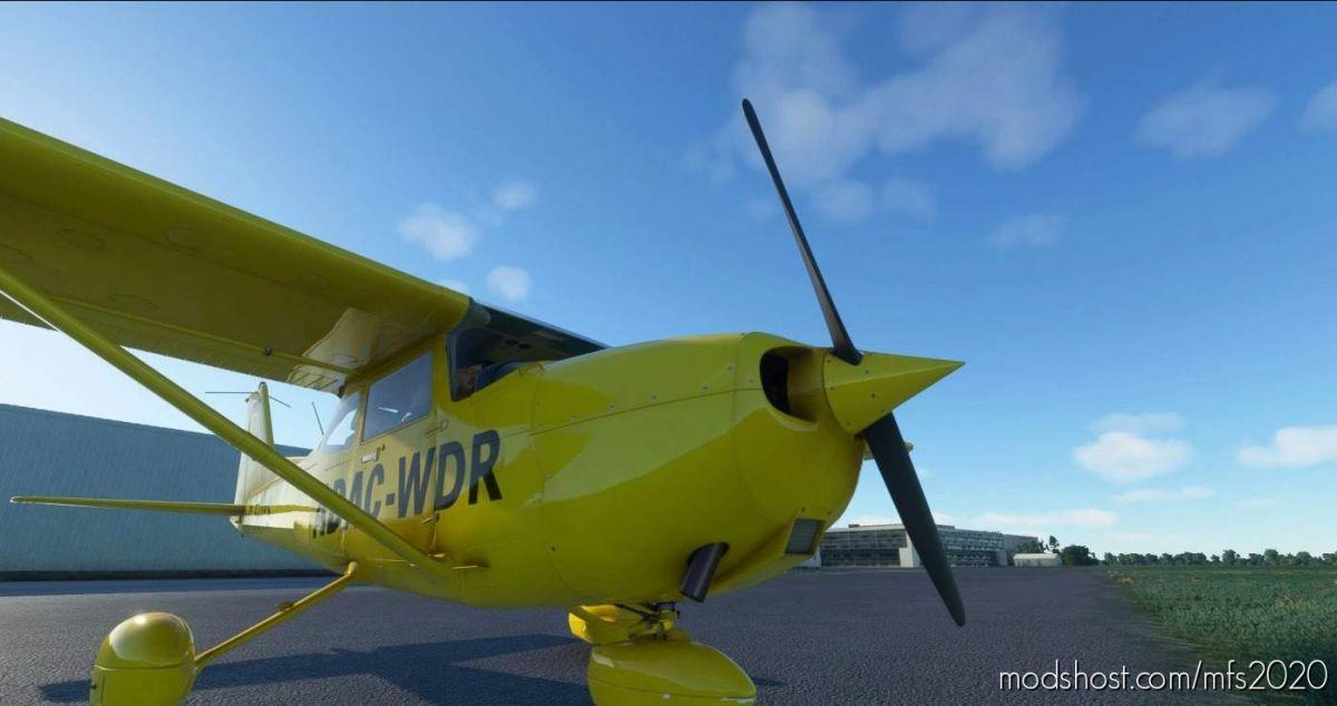 Cessna 172 AS1000 Livery – Adac- WDR for Microsoft Flight Simulator 2020