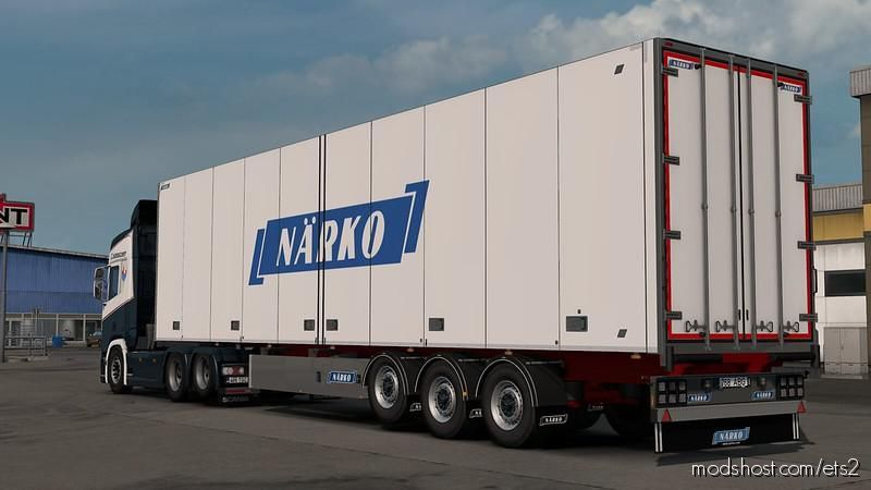 Narko Trailers By Kast V1.2 [1.39] for Euro Truck Simulator 2