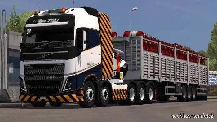 Volvo FH16 2012 Mega Mod V1.39.1.0 for Euro Truck Simulator 2