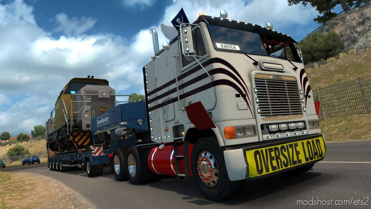 Freightliner FLB V2.0.9 Edit By Harven [1.39] for Euro Truck Simulator 2