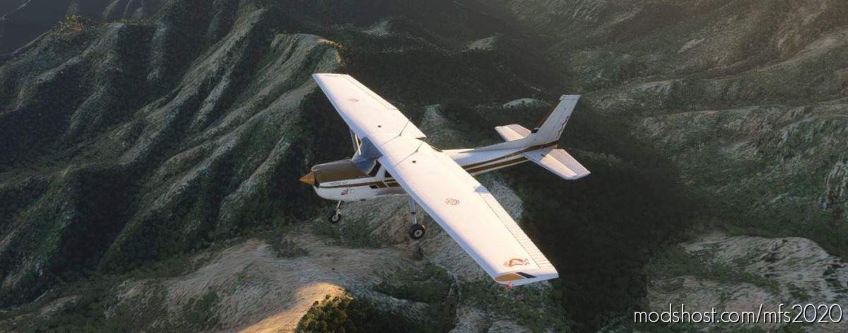Cessna 152 N22168 Linesbrw Paiute for Microsoft Flight Simulator 2020