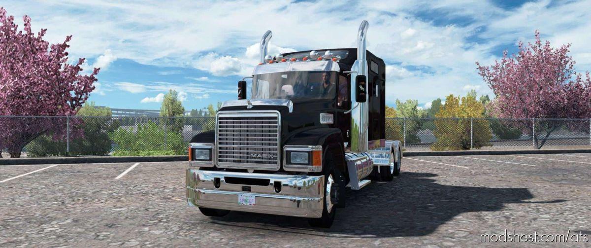 Mack Pinnacle CHU613 Truck V2.5 Edit for American Truck Simulator