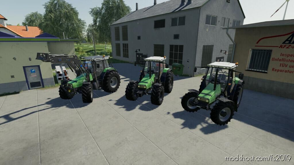 Deutz-Fahr Agrostar 6.08-6.38 V1.0.0.3 for Farming Simulator 19