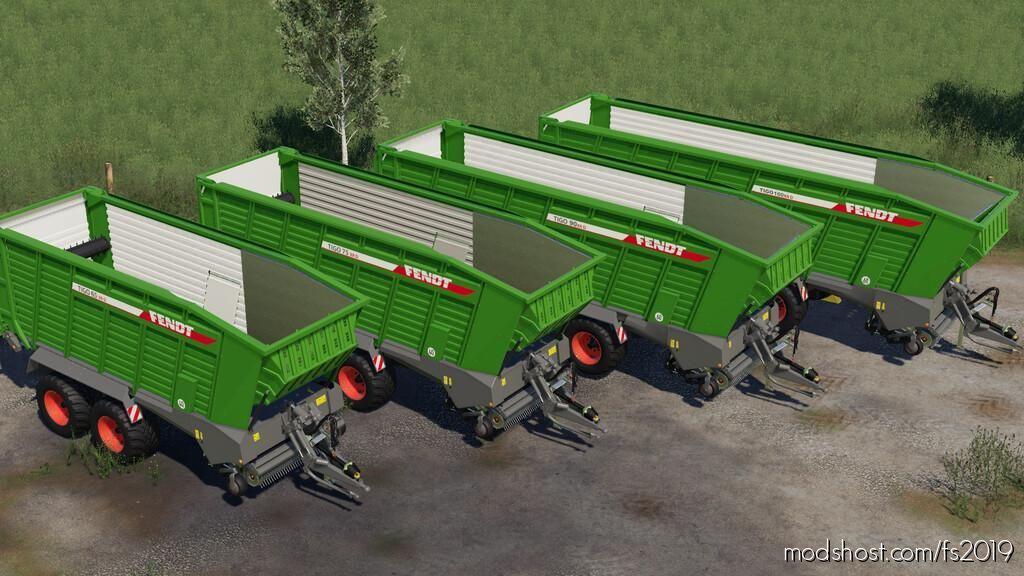 Fendt Tigo Package for Farming Simulator 19