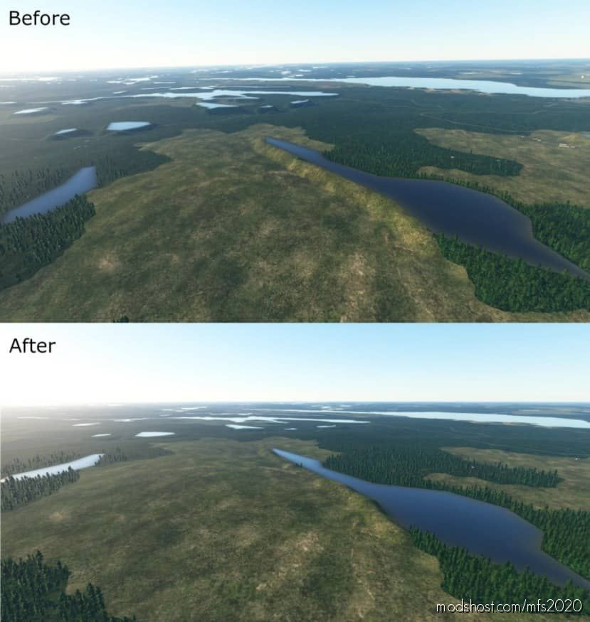 Finland Lake FIX for Microsoft Flight Simulator 2020
