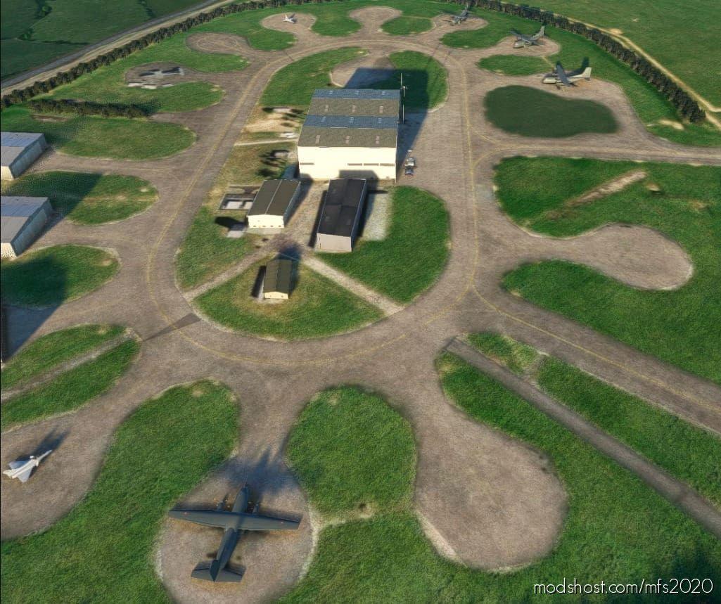 Base Aérienne 105 Évreux-Fauville V1.1 for Microsoft Flight Simulator 2020