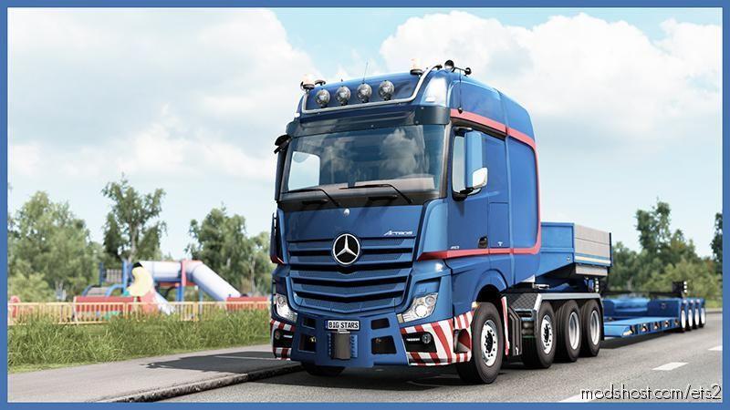 BIG Stars – Actros/Arocs SLT V1.6.4 [1.39] for Euro Truck Simulator 2