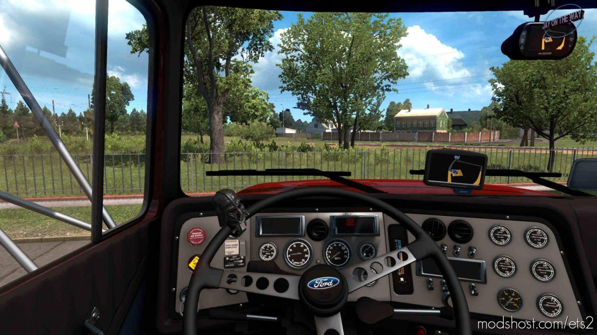 Ford Aeromax V1.1 Fixed [1.39] for Euro Truck Simulator 2