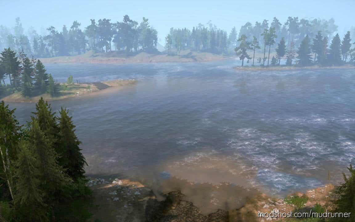River 2016 Map for MudRunner