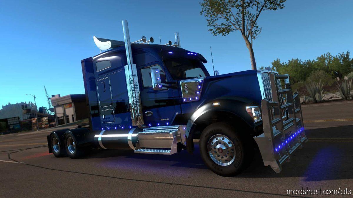 Kenworth W990 Truck By Harven V1.2.4 [1.39.X] for American Truck Simulator