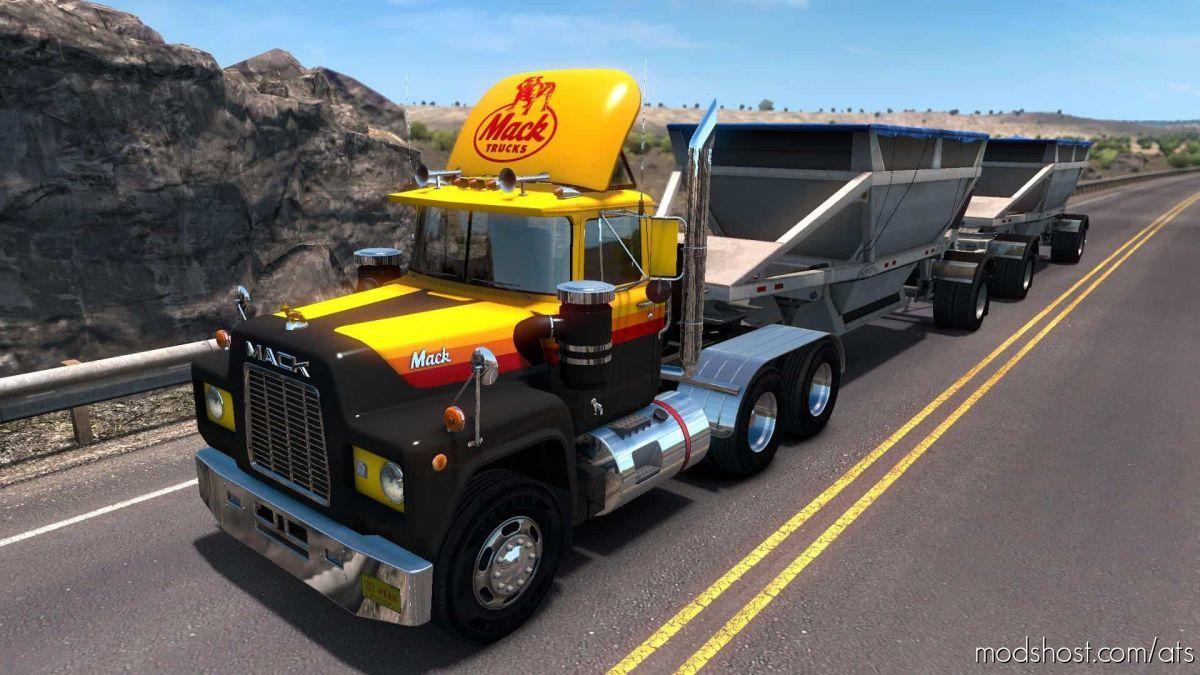 Mack R Series Truck V1.7 [1.39.X] for American Truck Simulator