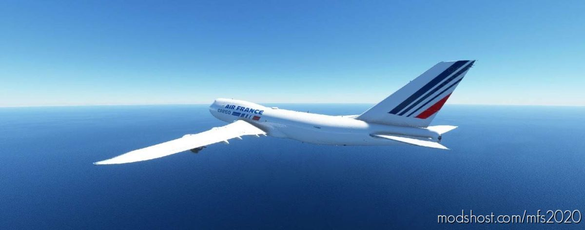 Boeing 747-8 AIR France Cargo for Microsoft Flight Simulator 2020