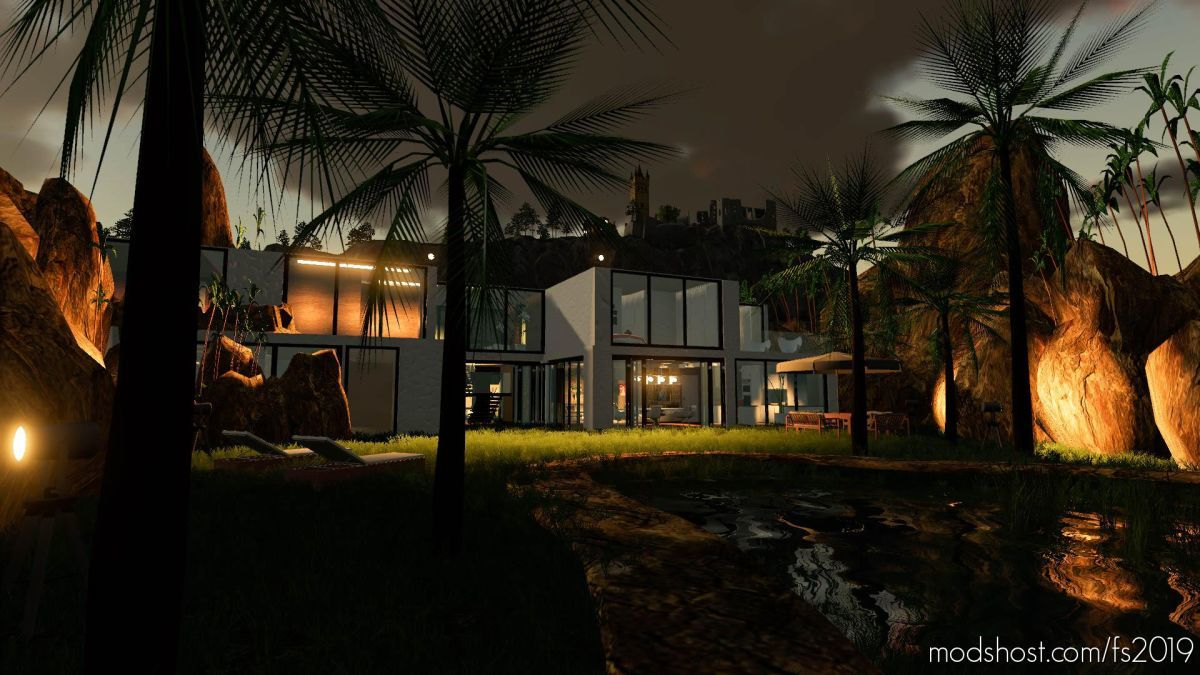 Villa In The Rocks for Farming Simulator 19