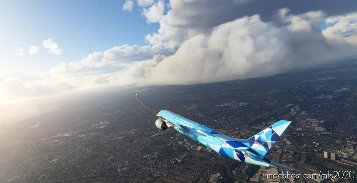 Etihad 787-10 Manchester City Special Scheme A6-Bnd for Microsoft Flight Simulator 2020
