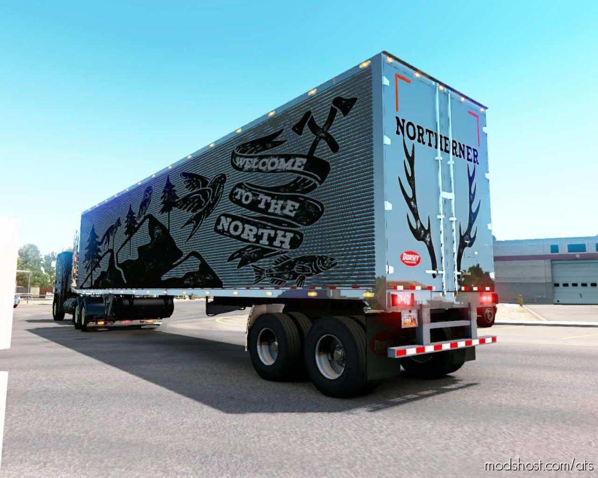 Dorsey 48FT Refrigerator [1.39] for American Truck Simulator