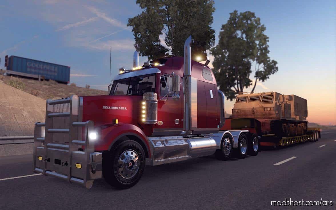 Western Star 4900FA Truck V2.1.0 [1.39.X] for American Truck Simulator