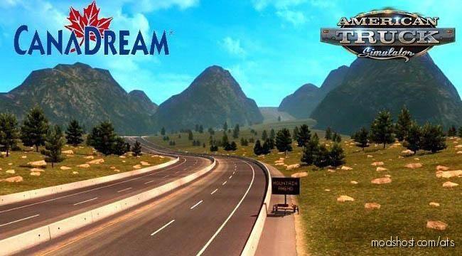 Canadream Map V2.11.9 [1.39] for American Truck Simulator