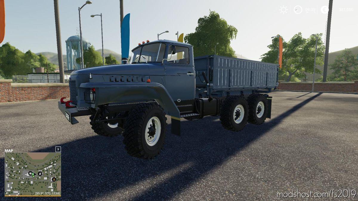 Ural-5557/375 V1.0.0.1 for Farming Simulator 19