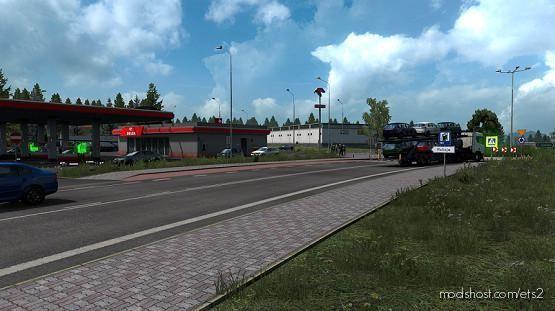 Southern Poland V1.1 for Euro Truck Simulator 2