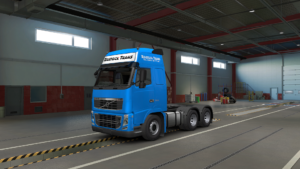 Rostock Trans Skin For Volvo FH Classic for Euro Truck Simulator 2