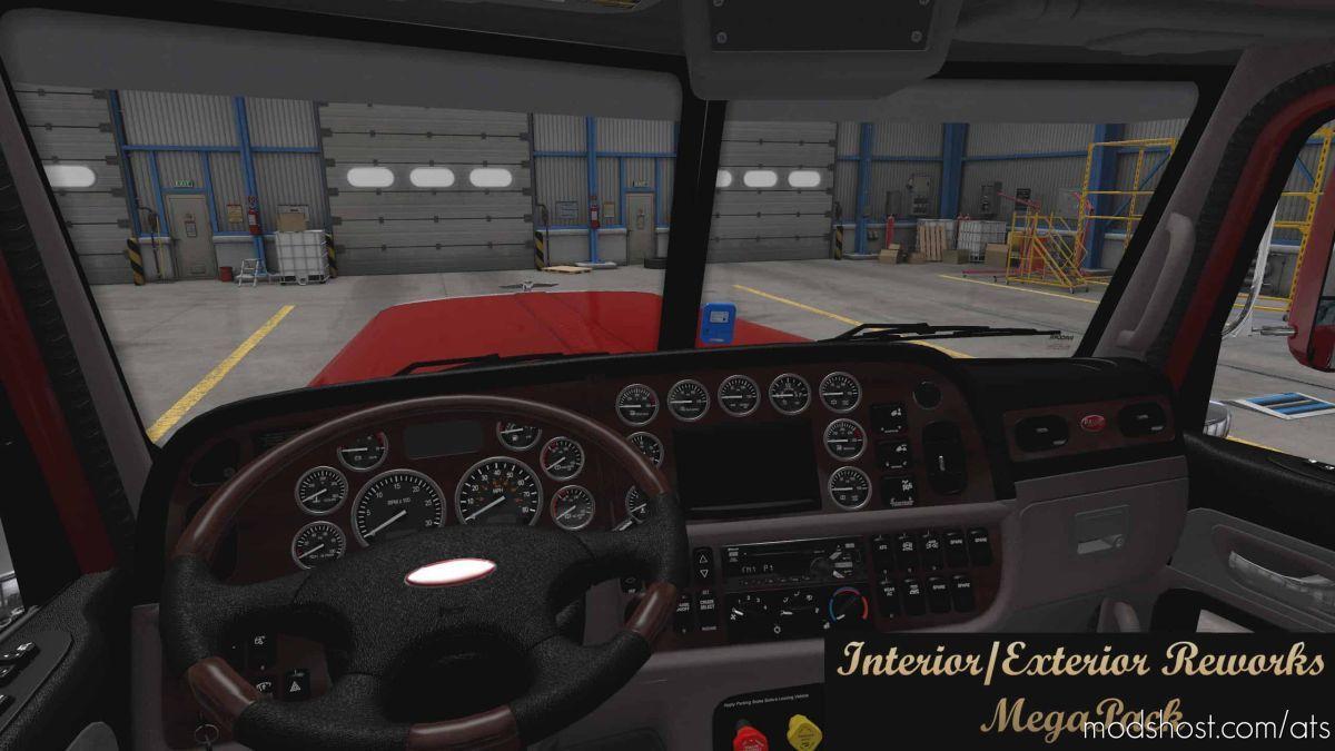 Interior/Exterior Reworks Megapack V1.8.1 for American Truck Simulator