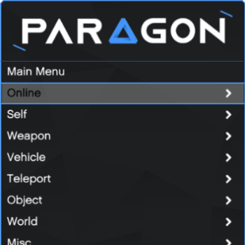 Paragon Mod Menu Trainer for Grand Theft Auto V