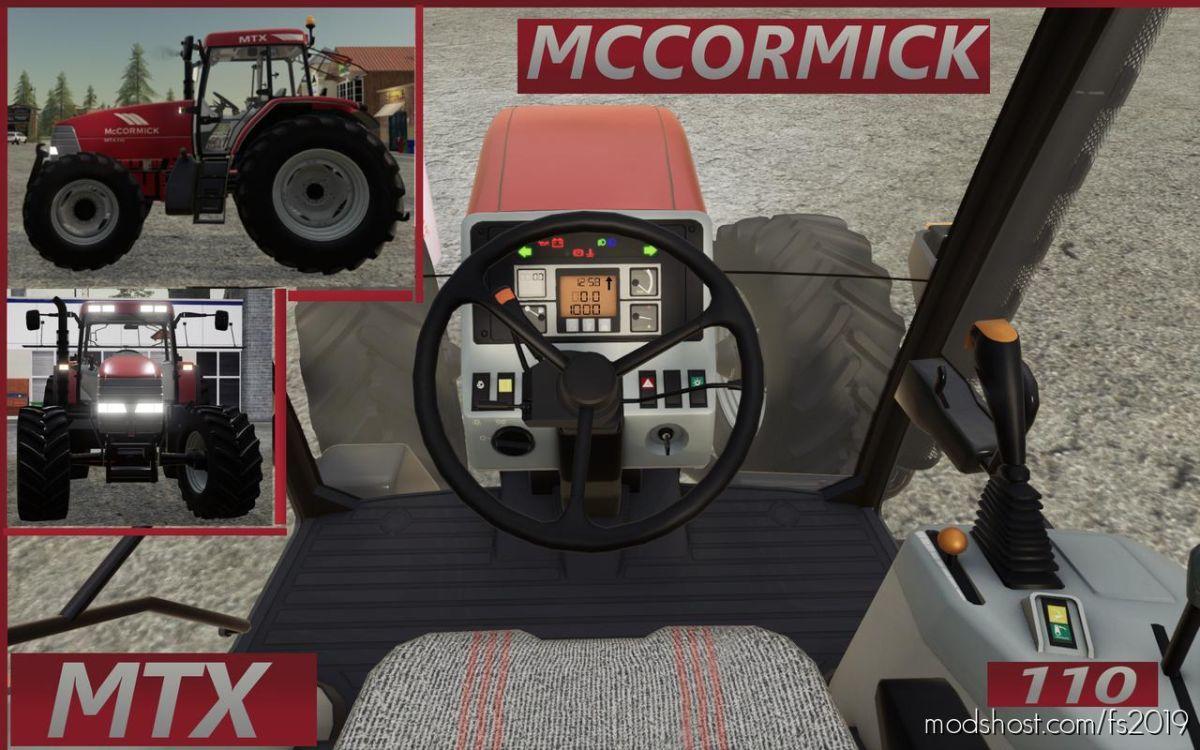 Mccormick MTX110 V1.1 for Farming Simulator 19