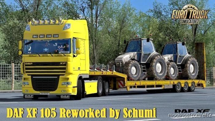 DAF XF 105 Reworked V2.8 for Euro Truck Simulator 2