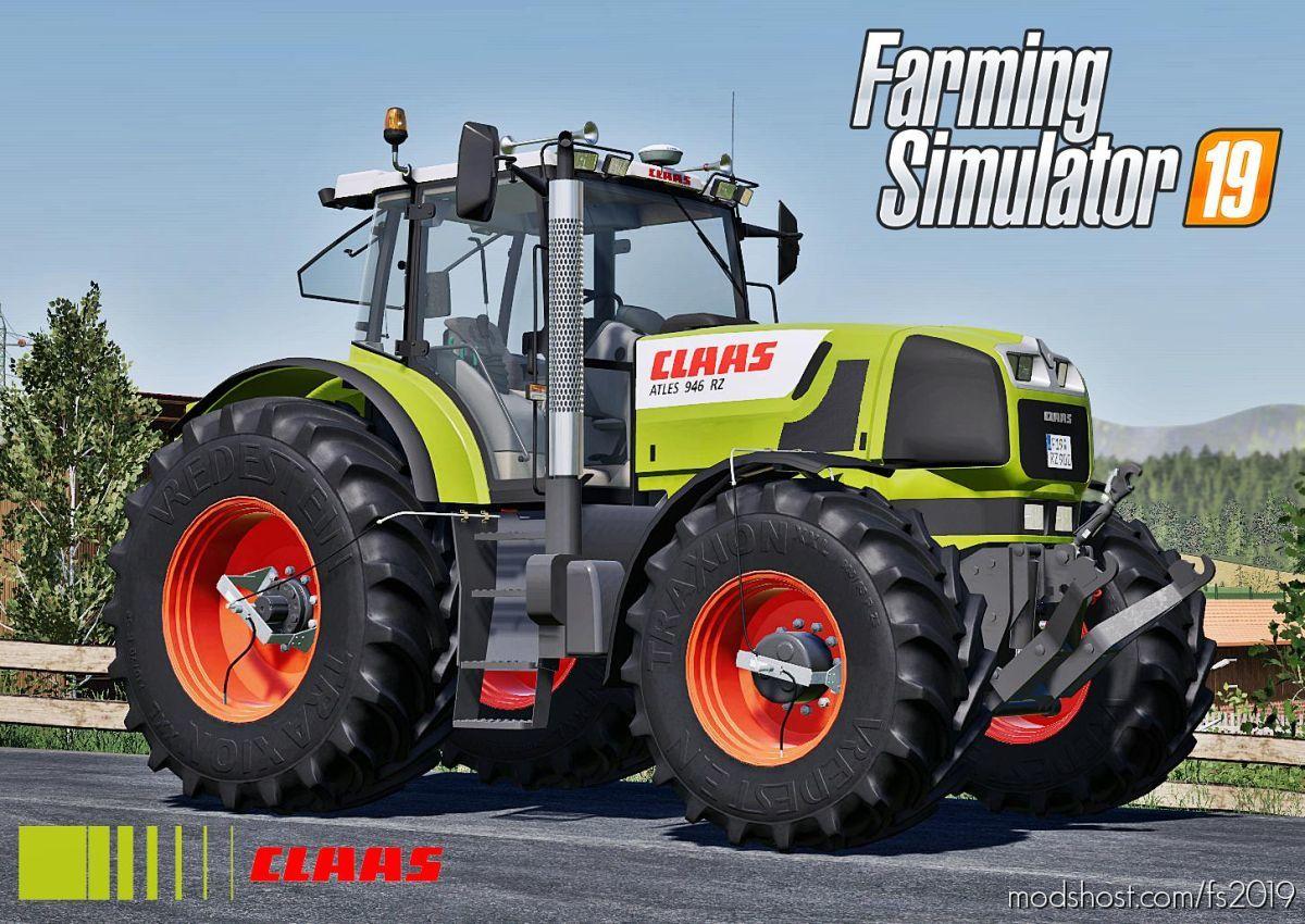 Claas Atles 900RZ Series for Farming Simulator 19