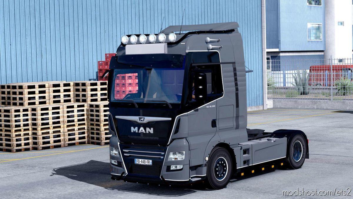 FIX For MAN TGX Euro 6 V2.2 [1.39] for Euro Truck Simulator 2