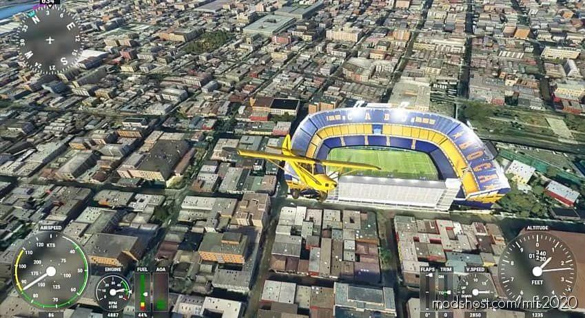 Boca – EL Único Grande for Microsoft Flight Simulator 2020
