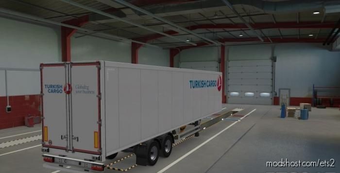 Turkish Cargo Paintjob By Ulas for Euro Truck Simulator 2