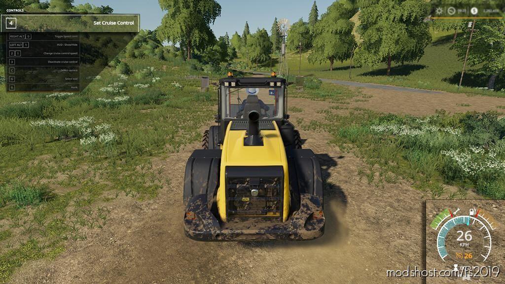 SET Cruise Control for Farming Simulator 19