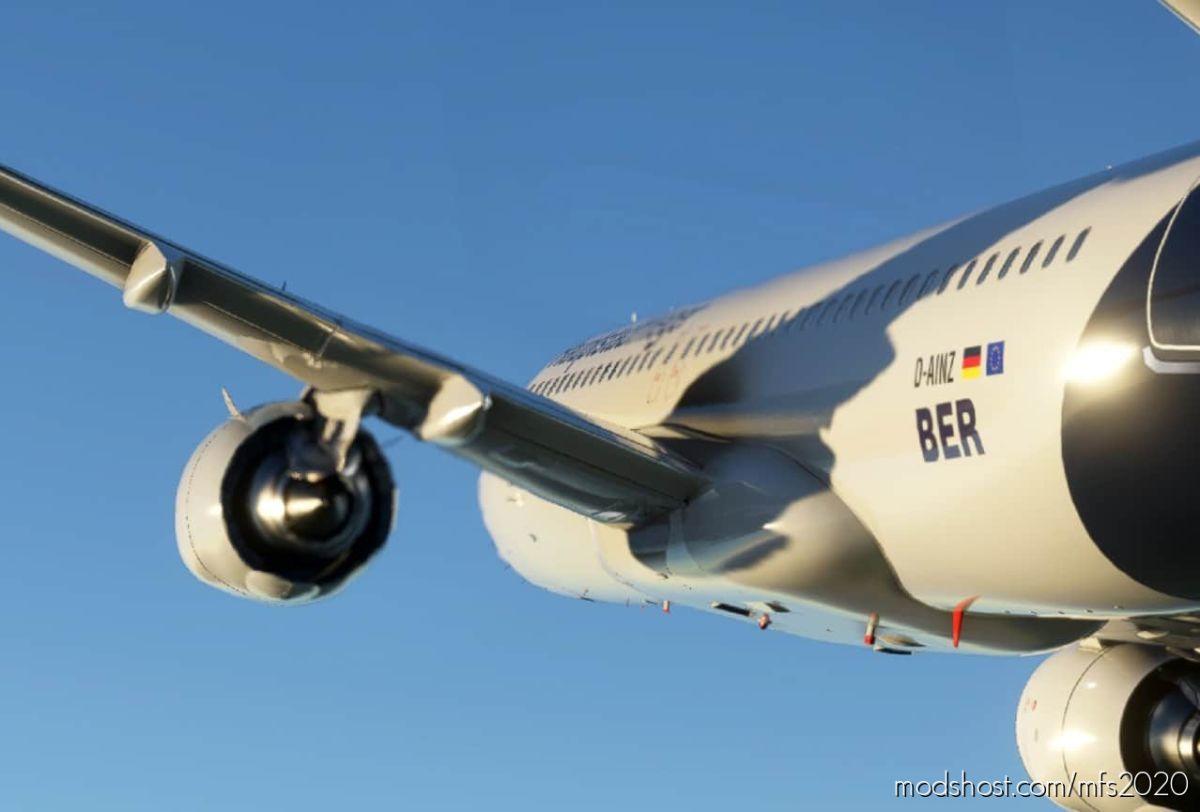 "Lufthansa ""Hauptstadtflieger"" A320N Livery 8K for Microsoft Flight Simulator 2020"