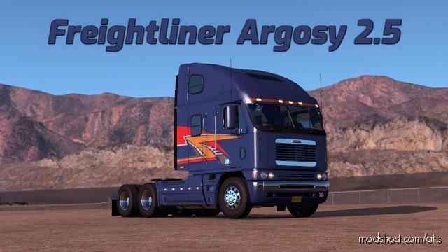 Freightliner Argosy Truck V2.6 Fixed [1.39.X] for American Truck Simulator
