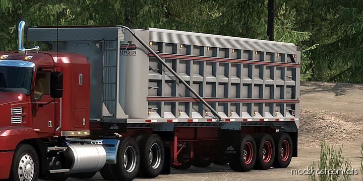 Benson End-Dump Trailer A1.39 for American Truck Simulator
