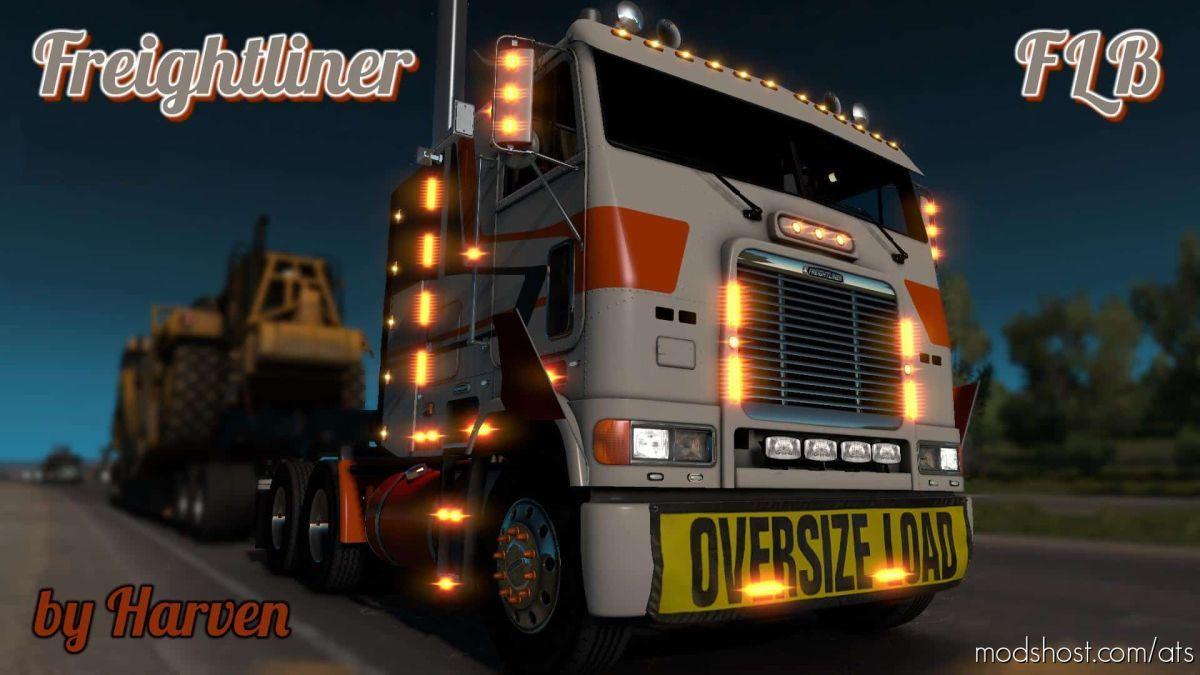 Freightliner FLB Truck V2.0.9 Fixed [1.39.X] for American Truck Simulator