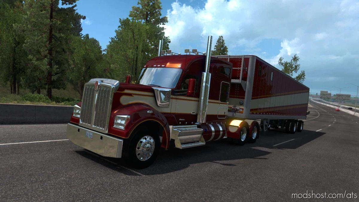 Kenworth W990 Truck V1.2.4 Fixed [1.39.X] for American Truck Simulator
