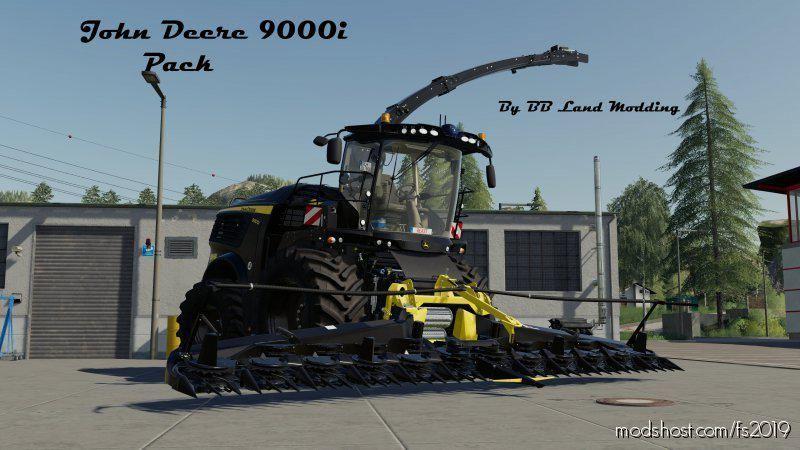 John Deere 9000I Pack for Farming Simulator 19