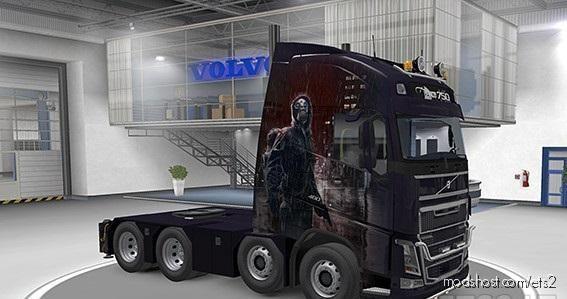 "Volvo Ohaha Paint JOB ""Lockdown"" for Euro Truck Simulator 2"
