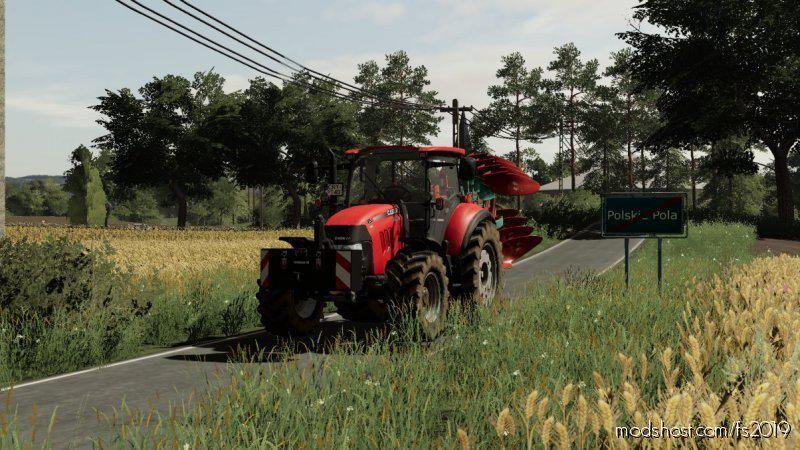 Case Farmall 105U for Farming Simulator 19