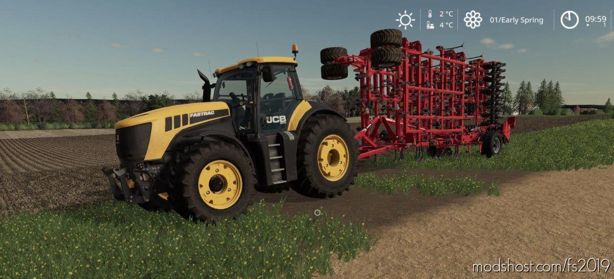 JCB 8000 for Farming Simulator 19