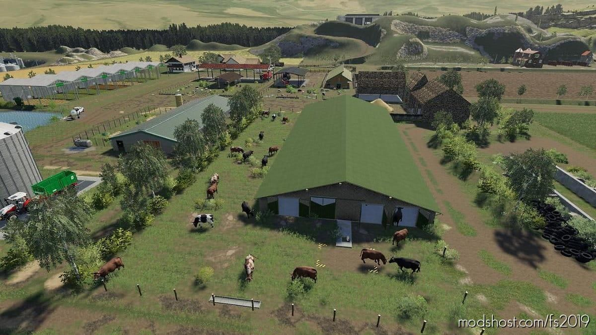 Map Animals for Farming Simulator 19