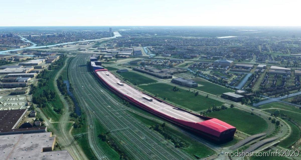 The Wall Utrecht for Microsoft Flight Simulator 2020