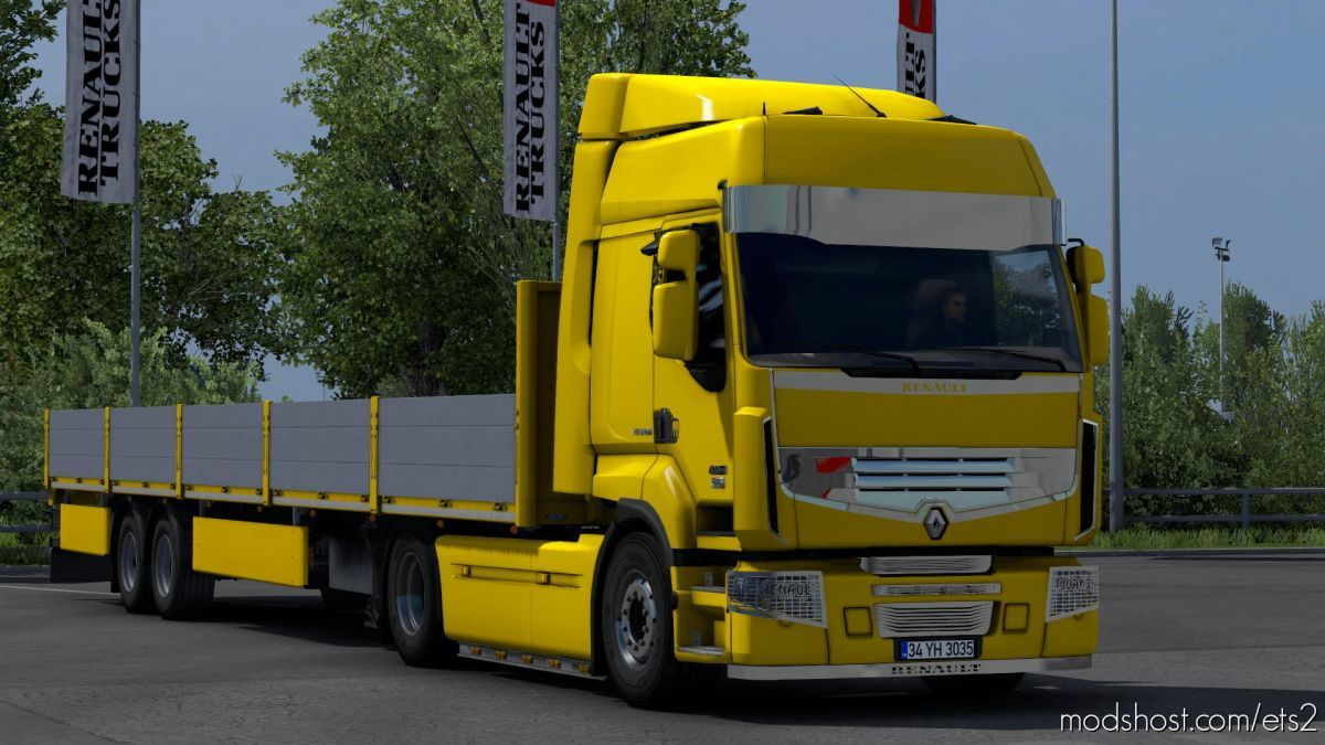 Renault Premium Chrome Tuning for Euro Truck Simulator 2