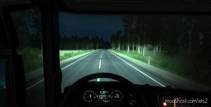 Alexd 5500 K Lights For ALL Trucks V1.2 for Euro Truck Simulator 2