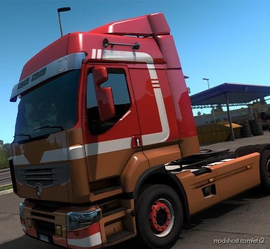 Renault Premium Holland Style Skin for Euro Truck Simulator 2