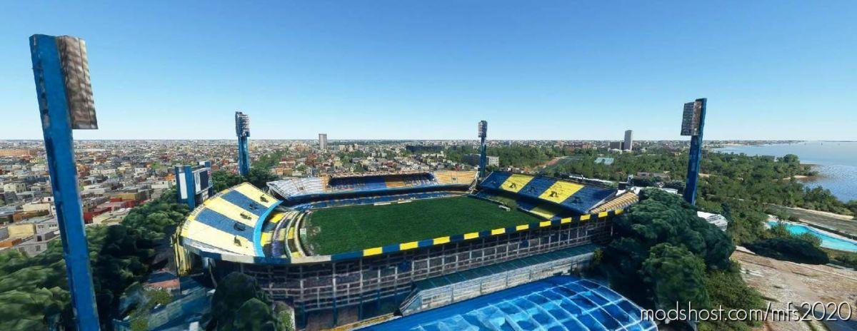 Estadio Gigante DE Arroyito (Rosario Central) – Argentina for Microsoft Flight Simulator 2020