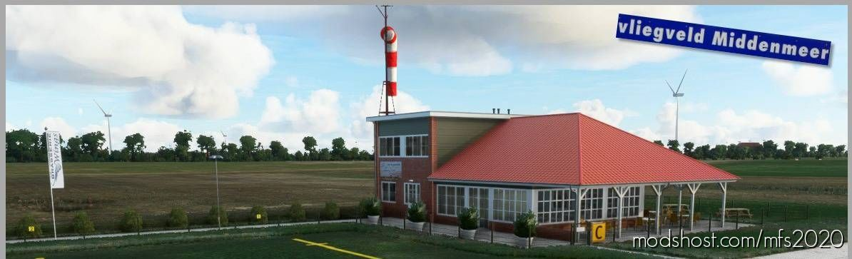 Middenmeer Aerodrome (Vliegveld Middenmeer) for Microsoft Flight Simulator 2020
